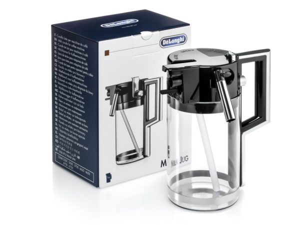 Milk Jug DLSC007 for Delonghi Perfecta Espresso Coffee Machines ESAM5500, ESAM5600, ESAM5700, ESAM6700, ESAM6750, 5513294531