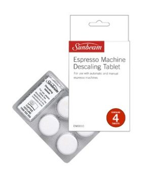 Sunbeam Coffee Maker Descaling Tablet EM0010