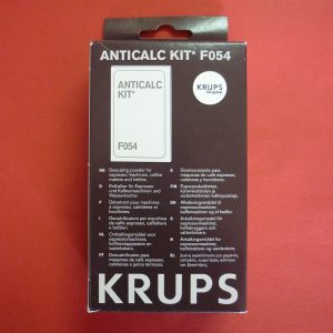 Krups coffee machine Descaling powder F054