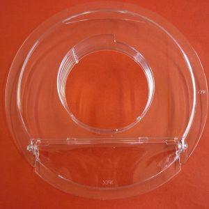 Kenwood Mixer Splashguard / Flour Guard Transparent Bowl Lid