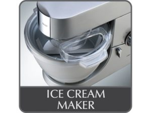 Australian Kenwood Major Sized Ice Cream Maker Attachment AT957