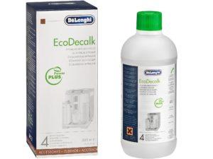 Delonghi coffee machines Ecodecalk Descaler / Descaling Liquid Solution 500ml P/N 5513291781