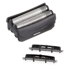 Remington SP62 SP62A Dual Foil Pivot & FlexTechnology Cutter, Foil for F3800, F3790