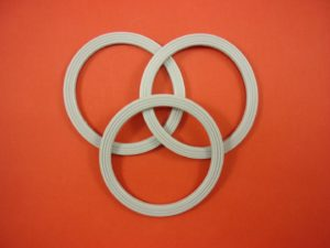 Kenwood Multipro Food Processor Belnder Blade Rubber Sealing Ring, Gasket, Seal for FP950 & FP920, KW680939