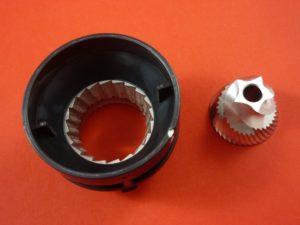Sunbeam Coffee Grinder Upper & Lower Burr Assembly Part - EM0480110 for EM0480, EM0450