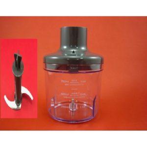 Sunbeam Stickmaster Platinum, Plus, Stick Mixer Complete Chopping Bowl Assembly for SM9000, SM7400, SM7200, SM9600, PN: SM90002