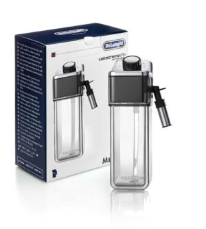 Delonghi Milk Jug for PrimaDonna Elite Touch Coffee Maker ECAM650 75MS ECAM650 55MS DLSC014 P/N: 5513297811