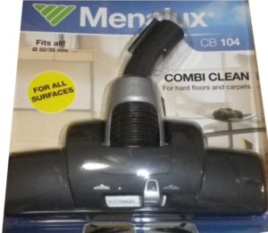 MENALUX 32MM/35MM COMBICLEAN FOR HARD FLOORS AND CARPETS P/N: CB104