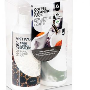 Aktivo Genuine Espresso Coffee Machine Cleaning Value Bundle Pack