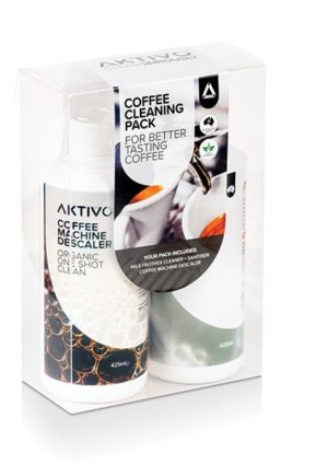 Aktivo Genuine Espresso Coffee Machine Cleaning Value Bundle Pack