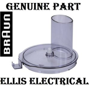 BRAUN COMBIMAX FOOD PROCESSOR BOWL COVER LID FOR 3205 3202 FX3030 K600 K650 K700 K750 PN: BR67051139 DANDENONG MELBOURNE