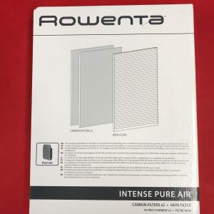Rowenta Intense Pure Air, Air Purifier, 1 Hepa Filter and 2 X Carbon Filters pack, Kit for PU2120 PN: XD6040F0