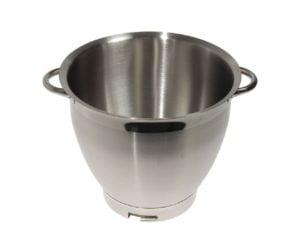 Kenwood Chef Sense XL Mixer 6.7L S / Steel Bowl with Handle for KVL6100, KVL6100T, KVL6300, KQL6200 PN: KW716726